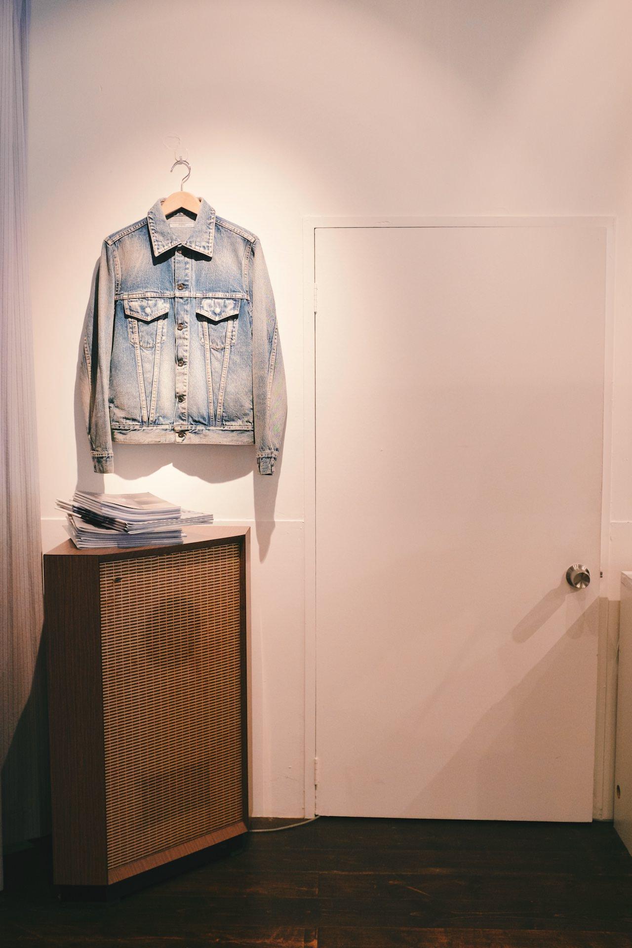 Fujit - Light washed denim jacket